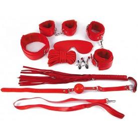 Пикантный красный набор БДСМ
