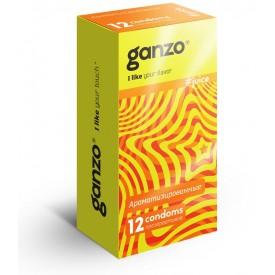 Ароматизированные презервативы Ganzo Juice - 12 шт.